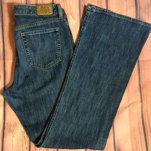 EUC Gap 14L Long Tall Stretch Boot Jeans Med Wash